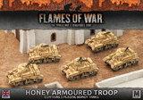 Flames of War: Desert Rats - Honey Armoured Troop