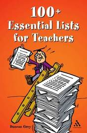 100 Essential Lists for Teachers by Duncan Grey image