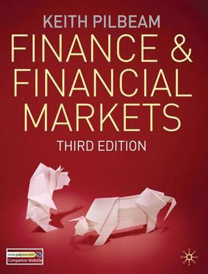 Finance and Financial Markets by Keith Pilbeam image