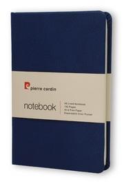 Pierre Cardin: A6 Hard Cover Notebook - Blue