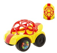 Oball: Rattle and Roll Car - Yellow image