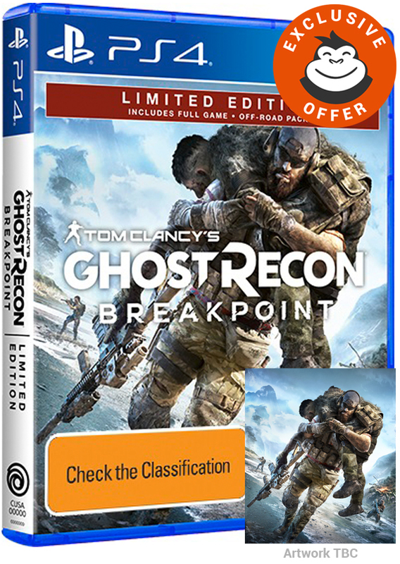 Tom Clancy's Ghost Recon Breakpoint Limited Edition | PS4 | Pre