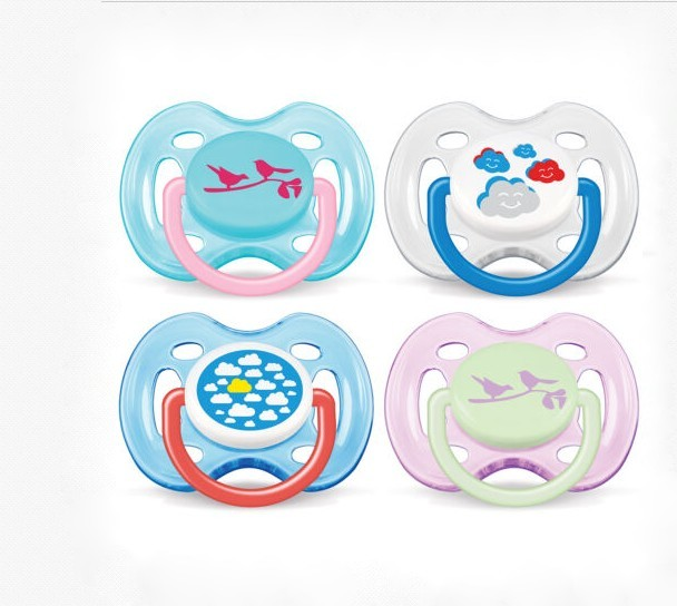 Philips Avent 0-6m Freeflow Soother- (2 Pack)