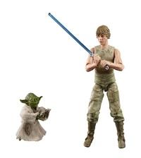 "Star Wars The Black Series: Luke Skywalker & Yoda (Jedi Training) - 6"" Action Figure Set image"