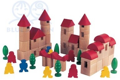 Blue Ribbon - Town Blocks (65pc)