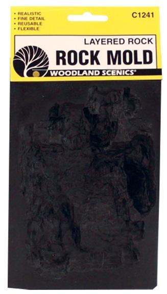 Woodland Scenics Layered Rock Mold
