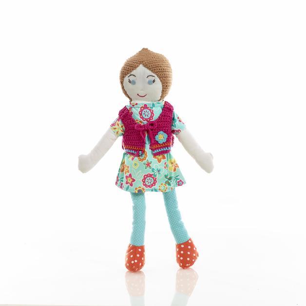 Pebble Rag Doll - Olivia