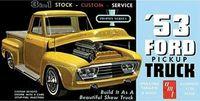 1/25 1953 Ford Pickup Truck Model Kit