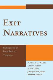 Exit Narratives by Nathalis G. Wamba