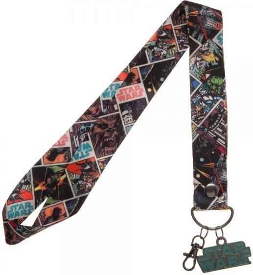 Star Wars - Wide Lanyard with Metal Charm