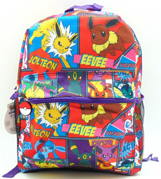 Pokemon Backpack Comic Strip