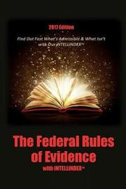 The Federal Rules of Evidence with Intellindex image