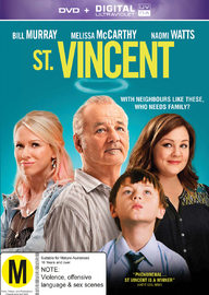 St. Vincent on DVD