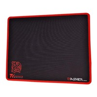 Thermaltake Dasher Red Mouse Pad for PC Games image