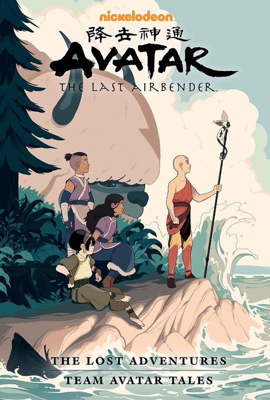 Avatar: The Last Airbender - The Lost Adventures And Team Avatar Tales Library Edition by Gene Luen Yang