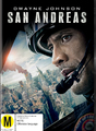 San Andreas on DVD