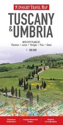 Tuscany and Umbria Insight Travel Map