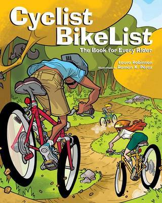 Cyclist Bikelist by Laura Robinson image