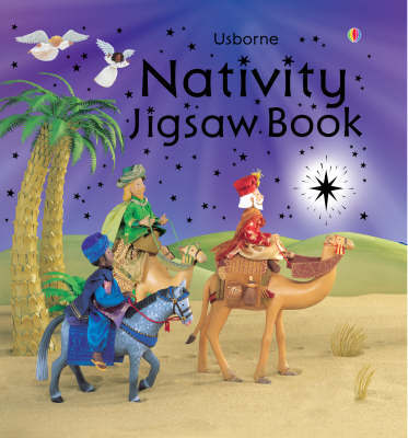 Nativity Jigsaw Book by Felicity Brooks