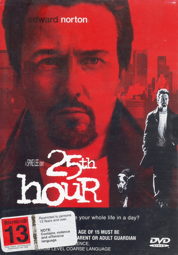 25th Hour on DVD image