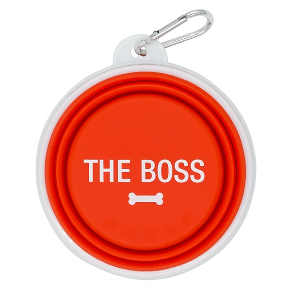 Dog Bowl: The Boss (Red)