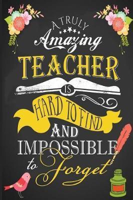 Teacher Appreciation Notebook by Pretty Notebooks