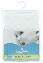 Baby First: Gauze Facecloths (3 Pack)