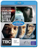 The Day the Earth Stood Still / Independence Day (2 Disc Set) on Blu-ray