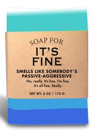 Whiskey River Co: Soap - It's Fine