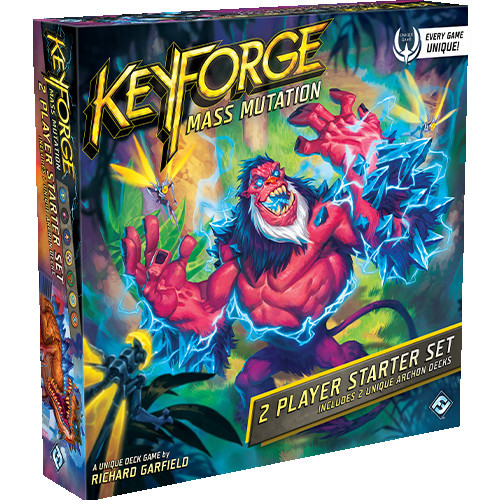 KeyForge: Mass Mutation - 2 Player Starter image