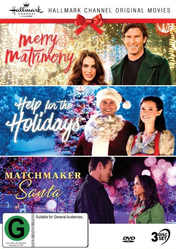 Hallmark Christmas Collection 6: Merry Matrimony / Help For The Holidays / Matchmaker Santa on DVD