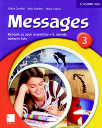Messages 3 Student's Book Slovenian Edition by Diana Goodey image