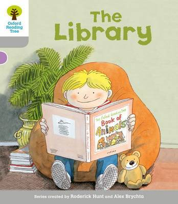 Oxford Reading Tree: Level 1: Wordless Stories A: Library by Roderick Hunt