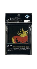 Game of Thrones Card Sleeves - Stannis Baratheon