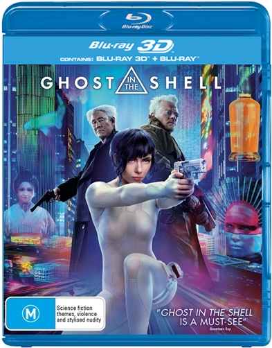 Ghost In The Shell on Blu-ray, 3D Blu-ray image