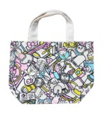 Doraemon x Hello Kitty - Gusseted Cotton Bag