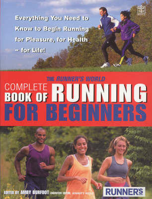 """The """"Runner's World"""" Complete Book of Running for Beginners by Amby Burfoot image"""