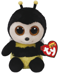 Ty Beanie Boo: Buzby Bee - Small Plush image