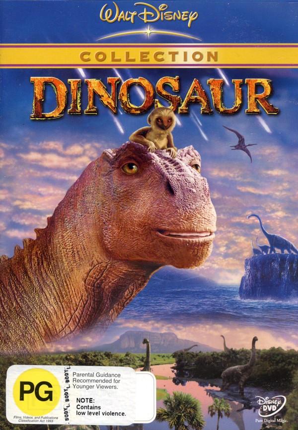 Dinosaur on DVD image
