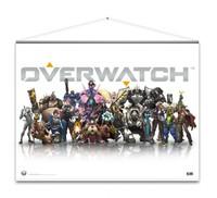 Overwatch - Heroes Wallscroll