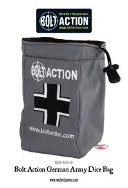 Bolt Action German Army Dice Bag & Dice