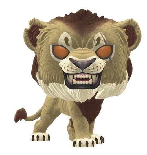 The Lion King (2019) - Scar (Flocked Ver.) Pop! Vinyl Figure