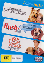Because Of Winn-Dixie / Rusty The Great Rescue / Far From Home - 3 Of The Best (3 Disc Set) on DVD