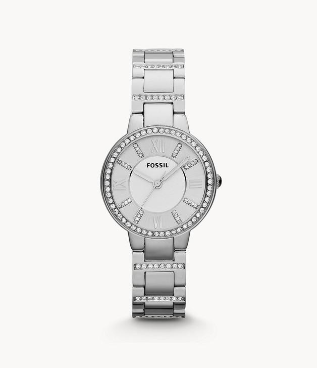 Fossil: Virginia Watch - Silver