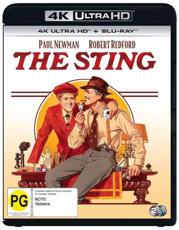 The Sting (4K UHD + Blu-Ray) on UHD Blu-ray