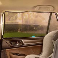 Munchkin: Brica - Magnetic Stretch-to-Fit Sun Shade