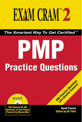PMP Practice Questions by David Francis image