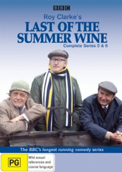 Last Of The Summer Wine (Roy Clarke's) - Complete Series 5 & 6 (3 Disc Set) on DVD image
