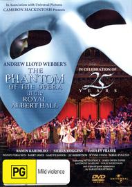 Phantom of the Opera 25th Anniversary Concert on DVD