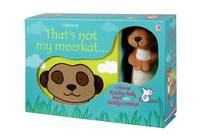 That's Not My Meerkat Book and Toy by Fiona Watt